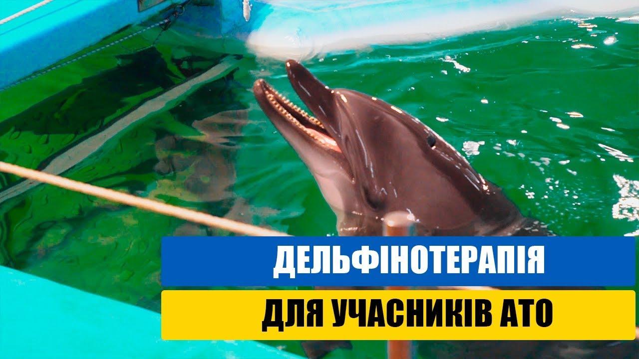 Дельфінотерапія для учасників АТО